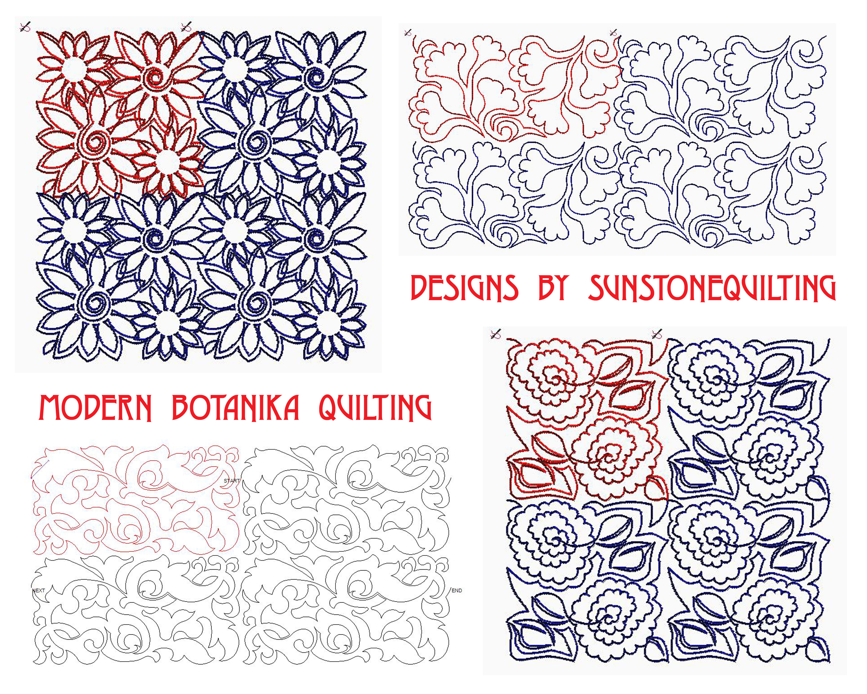 Digital Designs For Longarm Quilting : New digital designs for longarm quilters Sunstone Quilting